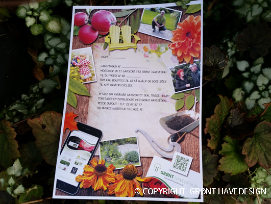 Kender du en der kunne bruge et gavekort til haven?