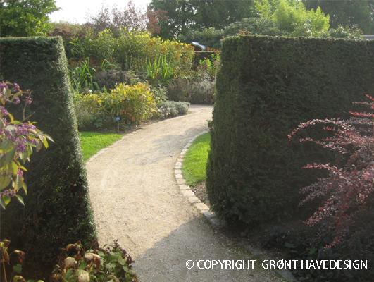 Havegang forbinder flere haverum